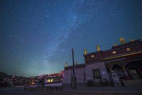 【月照金山团】香格里拉梅里雪山月照金山星空拍摄创作