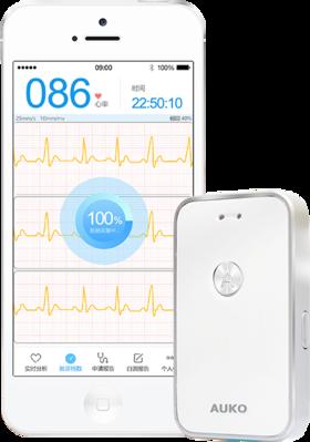 无需美版Apple Watch!药监局唯一认证救命神器!心关护便携式长效心电图记录仪
