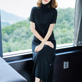 SHJS101-83271新品针织连衣裙TZF