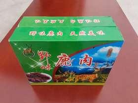 产品展示 | 【鹿鼎科技】郧西县涧池乡下营村鹿肉500g