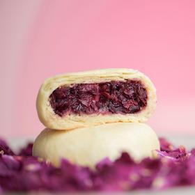 [乳香玫瑰小饼]新鲜花瓣入饼 减糖配方 8个/盒