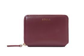 CULLA矩形小皮具钱包