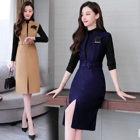 AN8930MLJL新款中腰时尚连衣裙TZF