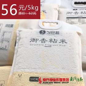 【18号提货】乡巴稻御香粘米  5kg/包  1包