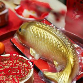 """与其转锦鲤!不如吃下这尾""""中国锦鲤"""" 中国锦鲤年糕,创意年货年礼,全家分享讨好运,送礼倍有面子!"""