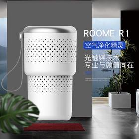 Roome空气精灵-除臭除烟除异味杀菌净化机宠物族必备车载净化器