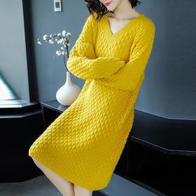 SHJS101-83212新款纯色格纹A字裙TZF