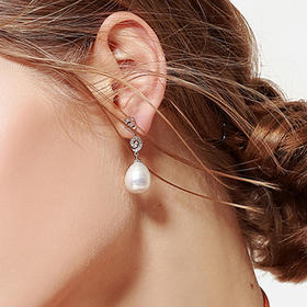 TOUCHEU恬趣 买手系列 | 圆融水滴珍珠耳饰