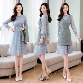 AN8957MLJL新款套装长袖连衣裙TZF