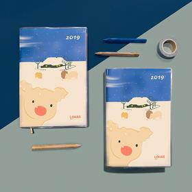 【9500积分兑换】LOHAS乐活2019年新年手账