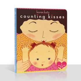 """盖世童书●Counting Kisses-数亲亲,经典启蒙绘本。一本温馨的""""数数""""书,教会了孩子们从一数到十,从十数到一。"""
