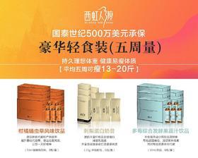 西虹人瘦5周套装(13—20斤)