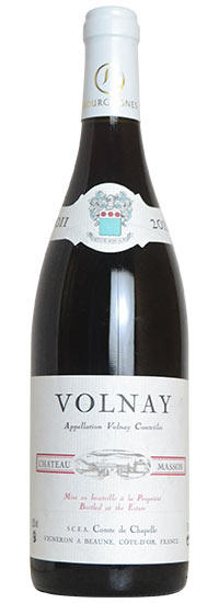 【Newsletter】Chateau Masson Volnay 2011马松古堡沃尔内干红葡萄酒2011