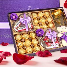 德芙巧克力礼盒装 送女友情人节情人生日小礼物糖果男生女生小零食