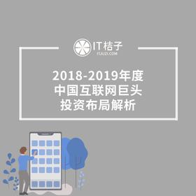 新品发售《2018-2019年度中国互联网巨头投资布局解析》