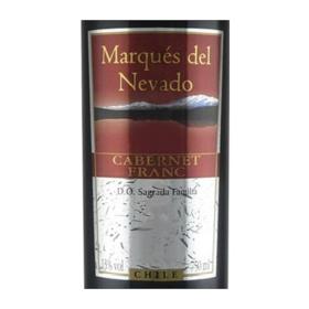 【闪购】纳瓦多古力高山谷品丽珠干红葡萄酒2008(2瓶装)/Marques del Nevado Cabernet Franc D.O.Sagrada Familia 2008