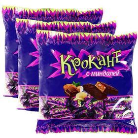 俄罗斯紫皮糖KDV巧克力味夹心糖