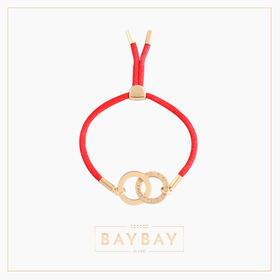 【新年好运红绳】双圆环手串