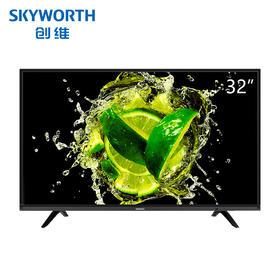 创维(Skyworth) 32X6 32英寸智能网络彩电窄边酷开平板液晶电视 (黑色)