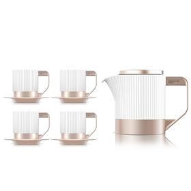 【商务首选】小罐茶2.0茶具 骨瓷行政套装茶具 高温骨瓷耐冷耐热茶具高档茶具泡茶用 顺丰包邮
