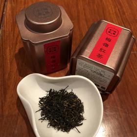 新年茶礼  梅岭红茶特级6罐   150g  高山有机茶