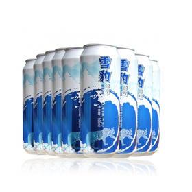 限武汉地区销售丨漳河水酿造 金龙泉雪豹啤酒500ml*9听 /组    3组 共27听