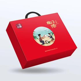 「保亭」椰子油-保亭年货套餐礼盒装 750ml*2 保亭县什岭镇坚固村扶贫产品(支持全国配送,偏远地区除外)