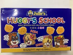 茱蒂丝牛奶味小熊饼干