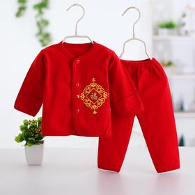 婴幼儿开脚大红内衣