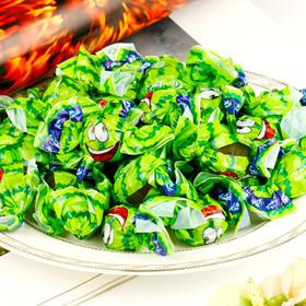 【俄罗斯网红糖】KONTI半球软糖西瓜味1000g/袋
