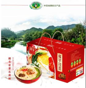 【米面粮油】魔芋面红色礼盒