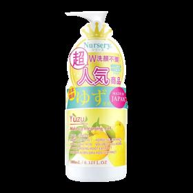 韩国Nursery 舒缓卸妆啫喱 柚子味 180毫升/瓶 温和卸妆 无残留
