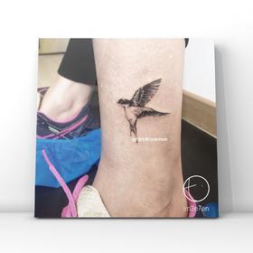 纹身预约定制创作|预付款定金