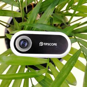 TIPSCOPE手机显微镜超薄放大镜便携式小贴拍照镜头苹果安卓通用