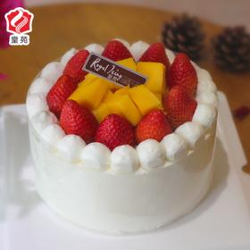 【甜美整个夏天】莓好时刻~草莓夹心天然淡奶蛋糕