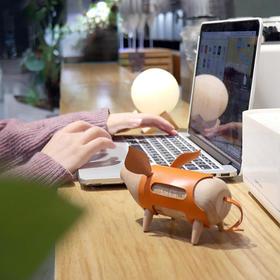 【限量开抢】猪来运转 16号星球万年历 可爱小猪实木台历,不分年份 ,可自行拆拼装