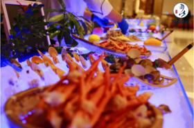 昆山美高美西餐厅 海陆空无限量自助餐成人现价仅需75元(1.4以上儿童按成人收费)