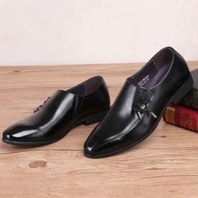 麦包包-英国Clous Krause 男鞋新款商务正装男士套脚皮鞋男牛皮青年尖头鞋子