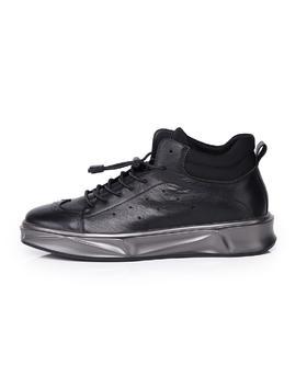 麦包包-英国Clous Krause 新款系带圆头厚底青年时尚休闲简约男鞋板鞋