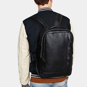 麦包包-意大利JM头层牛皮新款潮流旅行包休闲大容量双肩包