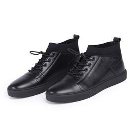 麦包包-英国Clous Krause 高帮牛皮板鞋潮流休闲鞋日常青年男鞋皮鞋百搭男士