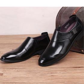 麦包包-英国Clous Krause 新款英伦男士工作靴正装牛皮鞋男皮鞋