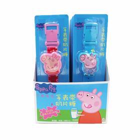 小猪佩奇手表带奶片糖
