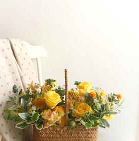 Life Kitchen 2月精品课程 铁艺鲜花盒