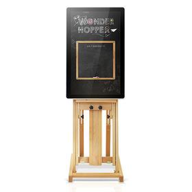 「琥珀一起画」人机互动绘画装置