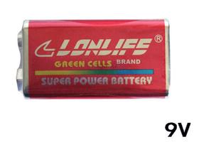 9V电池(4个)