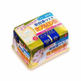 日本 高丝 KOSÉ  补水皇后 抽取式玻尿酸面膜 黄色 30回