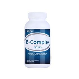 【提高精力抗疲劳】美国 健安喜 GNC 维生素B复合胶囊 50mg 100粒