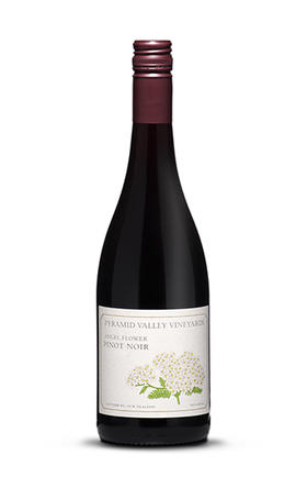 百花谷酒庄天使之花黑皮诺干红葡萄酒2015/Pyramid Valley Vineyard Angel Flower Pinot Noir 2015