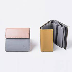 未行旅行 原创设计 小方钱包小巧防水男女零钱包送卡包
